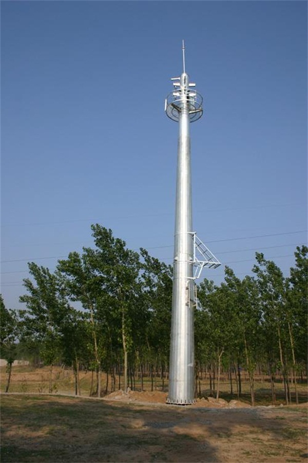 20米监控塔生产厂家价格实惠施工方案