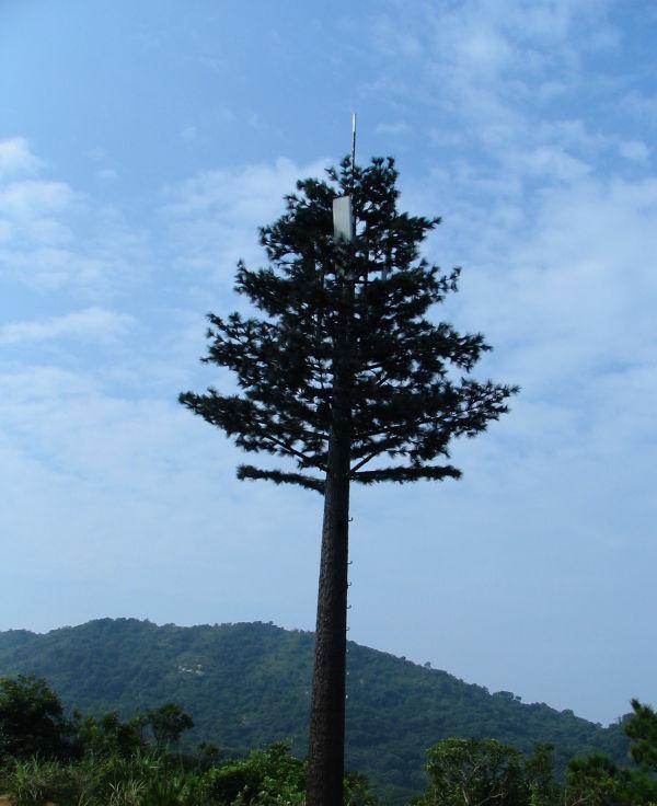 仿生树型单管塔