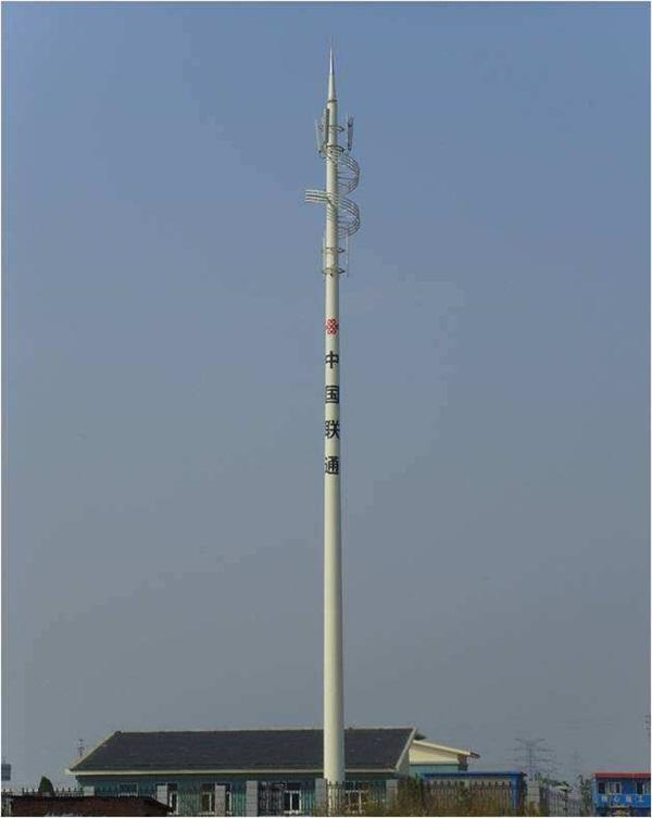 通信单管塔
