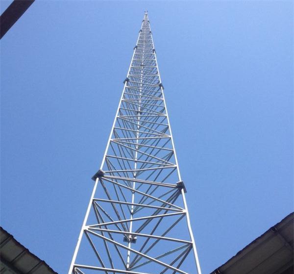 三柱圆钢避雷塔