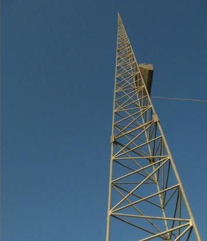 三角圆钢避雷塔厂家支持定制价格实惠