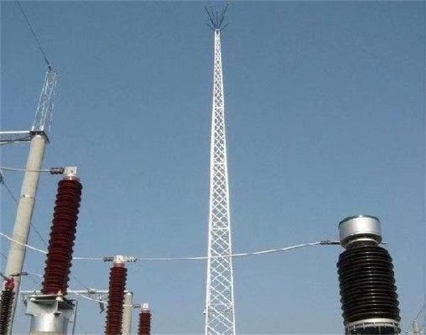 36米避雷铁塔制作