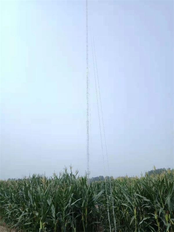 气象测风塔安装注意事项