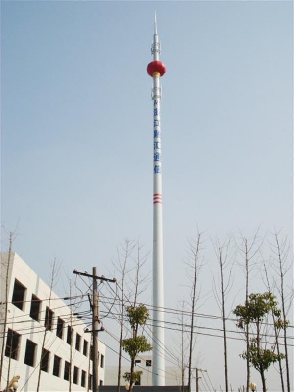 通信单管塔施工