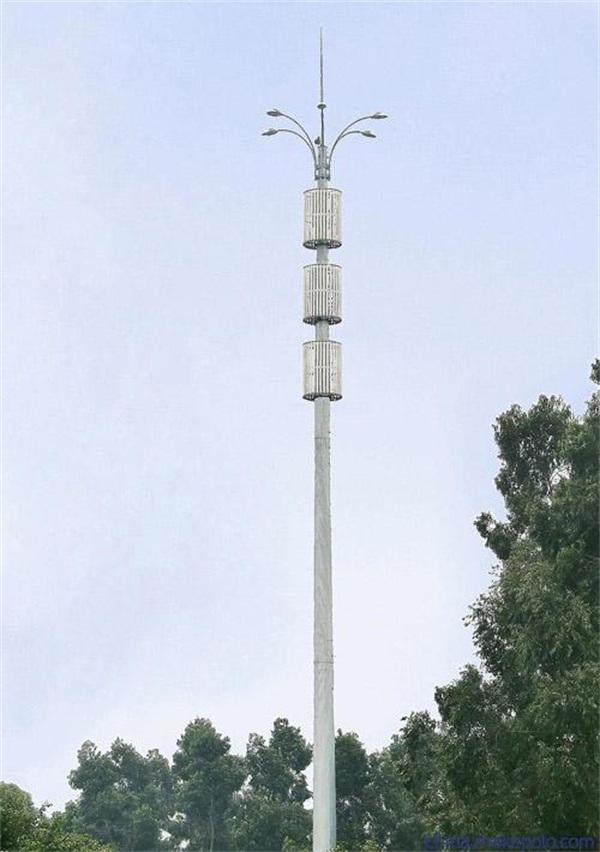外爬式单管塔