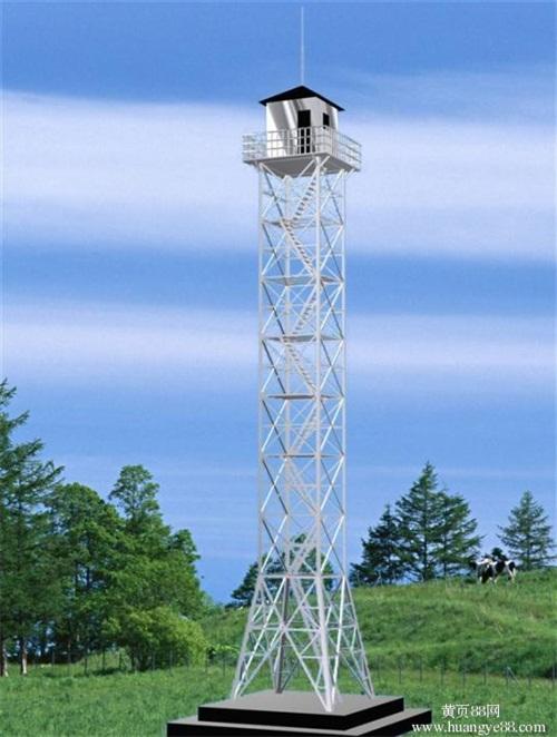 10米监控塔厂家直销价格实惠施工方案