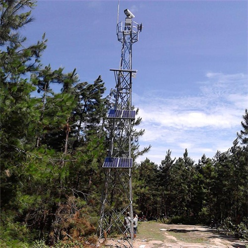 25米监控塔