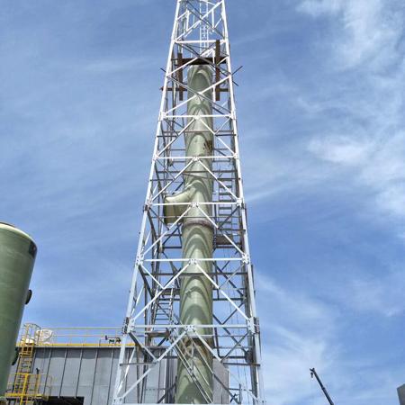 废气排放烟囱塔设计制作价格实惠