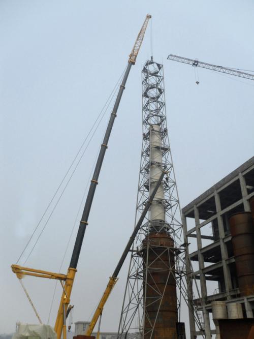 82米烟筒塔施工方案