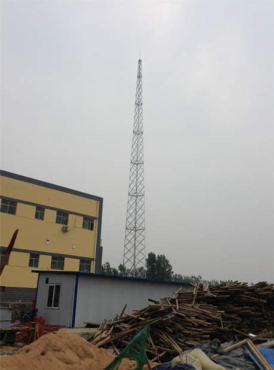 30米四柱角钢避雷塔重量
