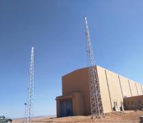 铁岭gfw31米楼顶避雷线塔