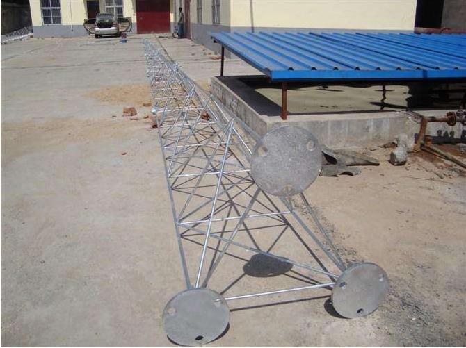 30米gjt三柱圆钢避雷塔图集