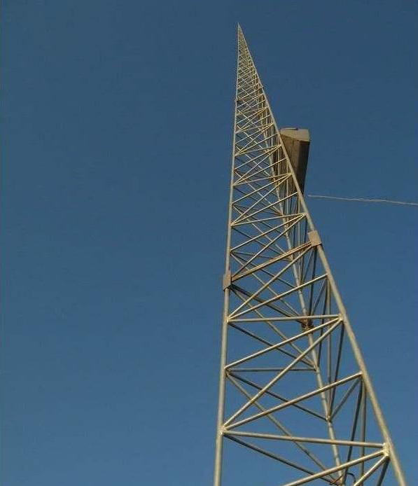 gjt三柱圆钢避雷塔标准