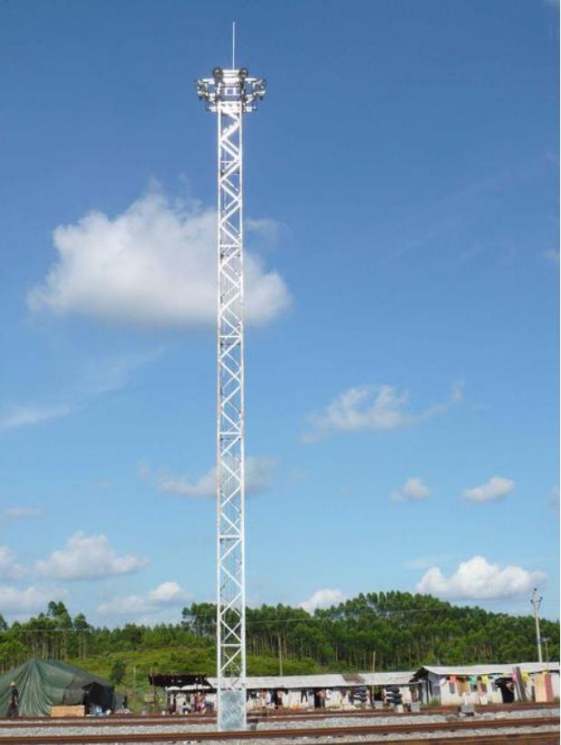 体育场用升降式高杆照明灯塔