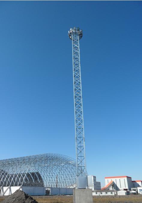 升降高杆应急照明灯塔