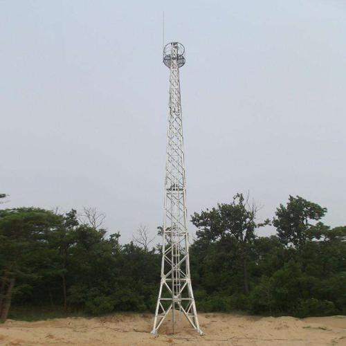 12米监控塔厂家供应 安装施工专业
