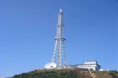 蚌埠脱硫烟囱塔安装